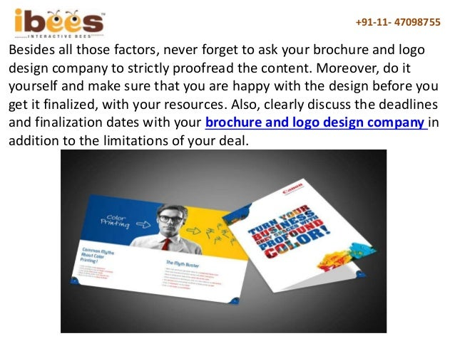 How to make the most out of a brochure and logo design company 9 solutioingenieria Choice Image