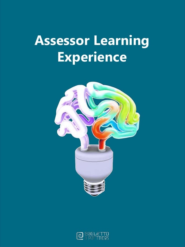 Assessor Learning Experience