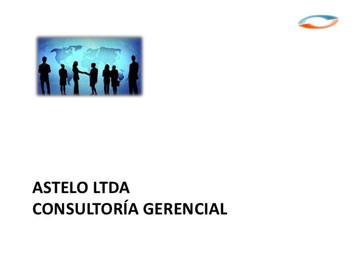ASTELO LTDACONSULTORÍA GERENCIAL