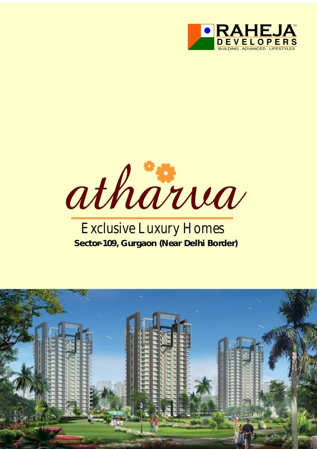 Sector-109, Gurgaon (Near Delhi Border) Exclusive Luxury Homes