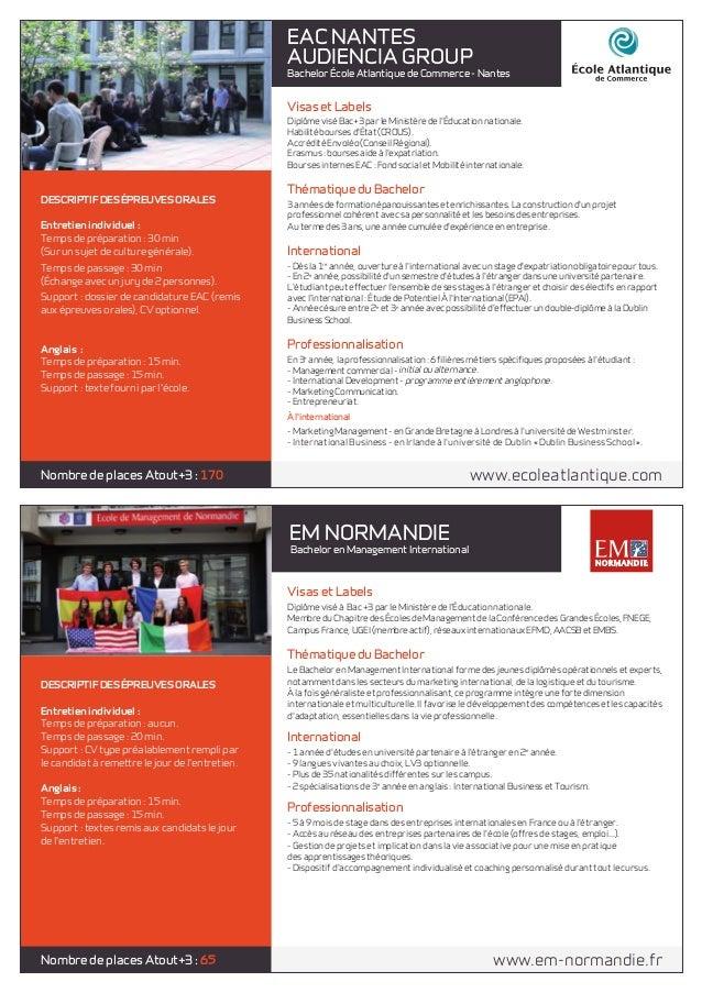 brochure concours bachelor atout 3