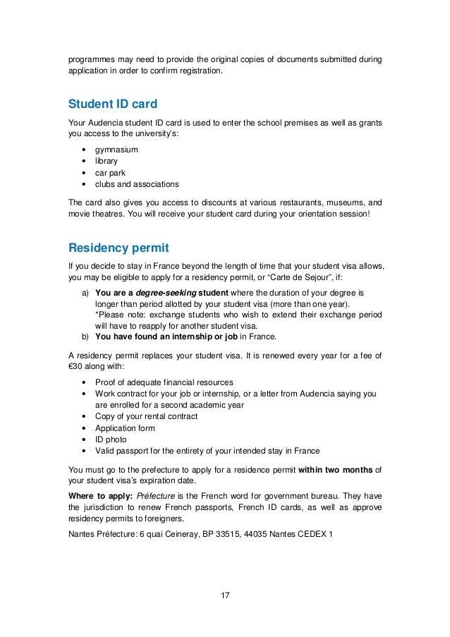 Audencia Nantes School of Managment Brochure audencia