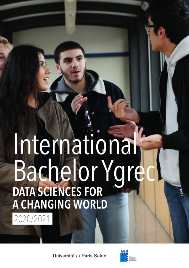 International BachelorYgrec DATA SCIENCES FOR A CHANGING WORLD 2020/2021