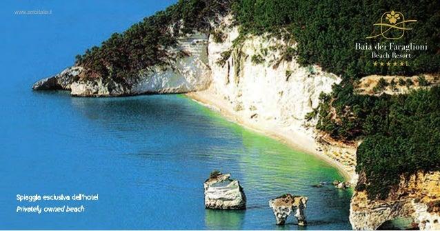 Spiaggia esclusiva dell'hotelPrivately owned beachwww.antoitalia.it