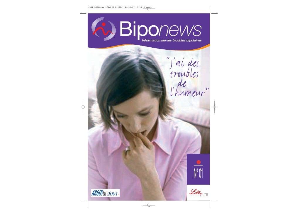"""Biponews    Information sur les troubles bipolaires                              """"J'ai des                           troub..."""