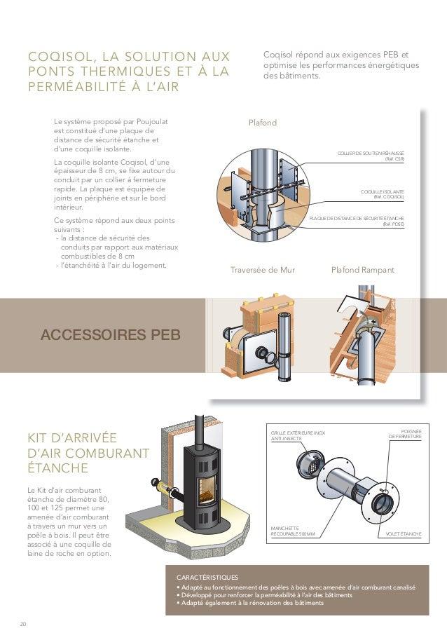 Poujoulat Brochure Solutions pour le chauffage au bois et granules # Consommation Granulés De Bois