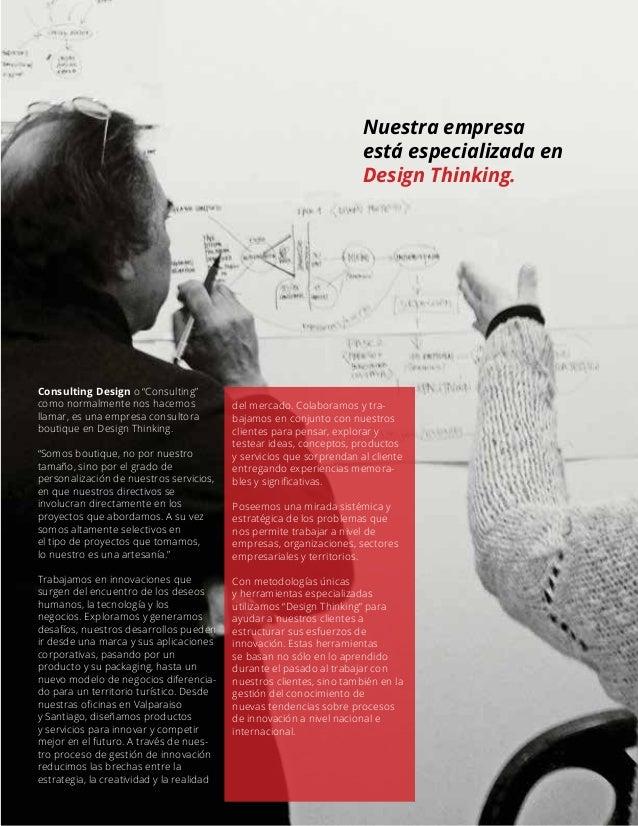 Brochure de servicios consulting design cdesign design for Design thinking consulting