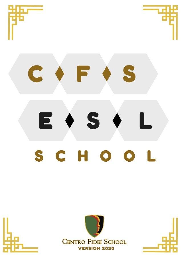Brochure Trường Anh ngữ CFS 2020