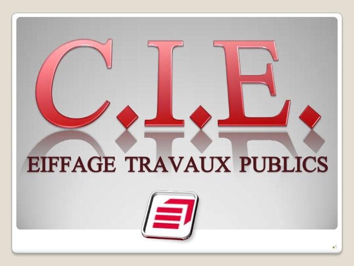 EIFFAGE TRAVAUX PUBLICS                                1