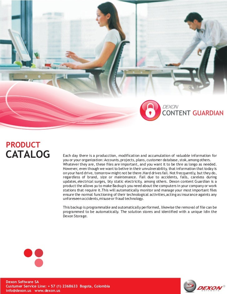 PRODUCTCATALOG                       Each day there is a producction, modification and accumulation of valuable informatio...