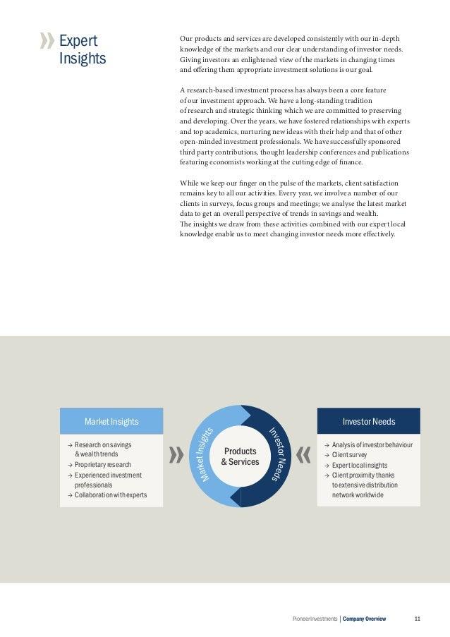 Pioneer Investments Corporate Brochure