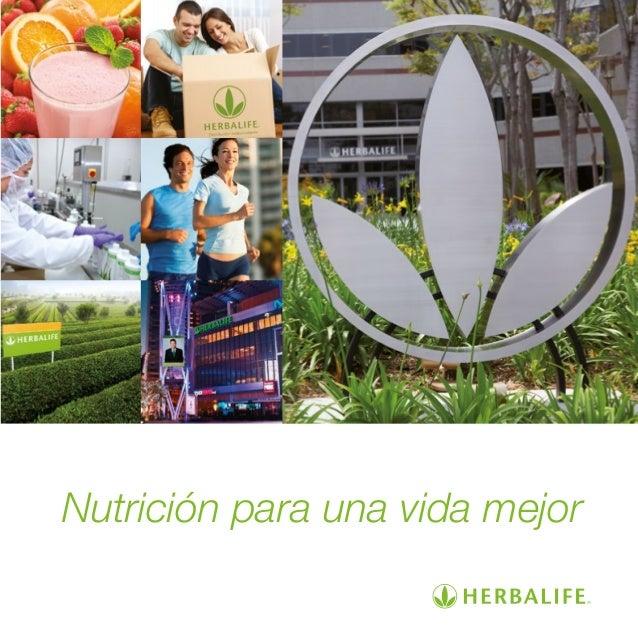 Nutrición para una vida mejor