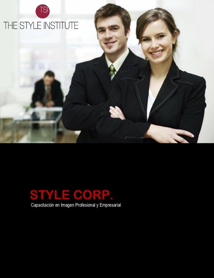 STYLE CORP.Capacitación en Imagen Profesional y Empresarial