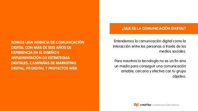 Brochure Agencia Creátika 2015 Slide 2