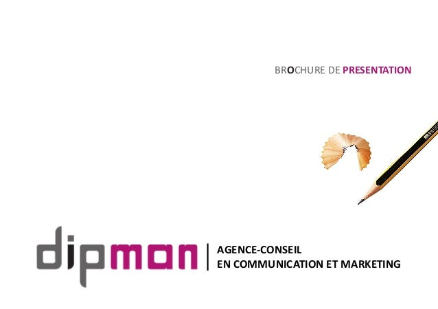 BROCHURE DE PRESENTATION AGENCE-CONSEIL EN COMMUNICATION ET MARKETING