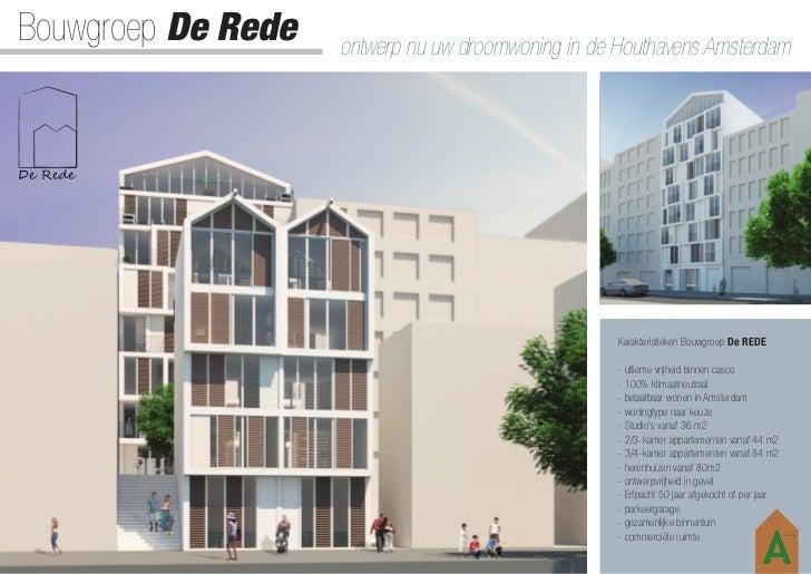 Bouwgroep De Rede   ontwerp nu uw droomwoning in de Houthavens Amsterdam                                                  ...