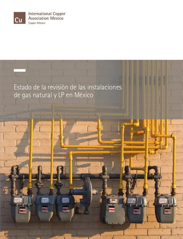 Dossier situaci n en mexico 2012 de instalaciones de gas for Instalacion de gas lp