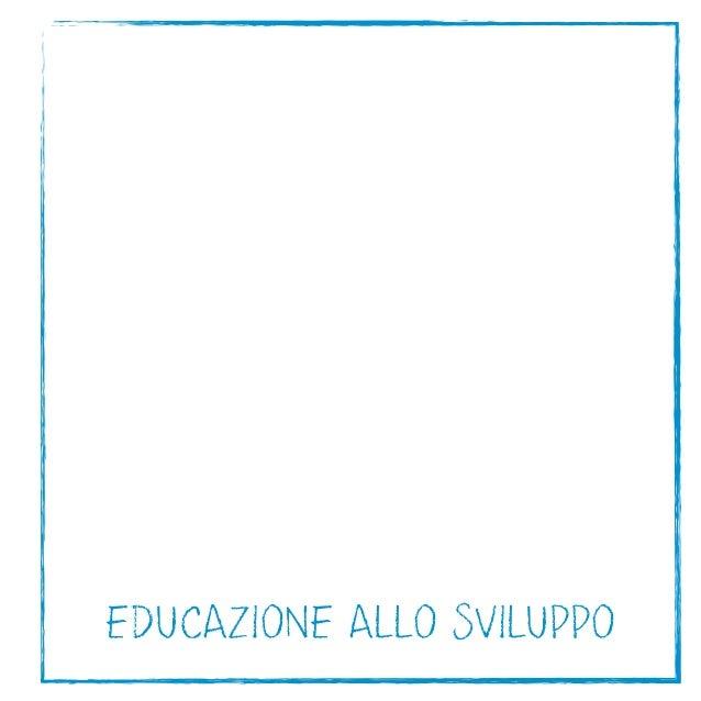 EDUCAZIONE ALLO SVILUPPO