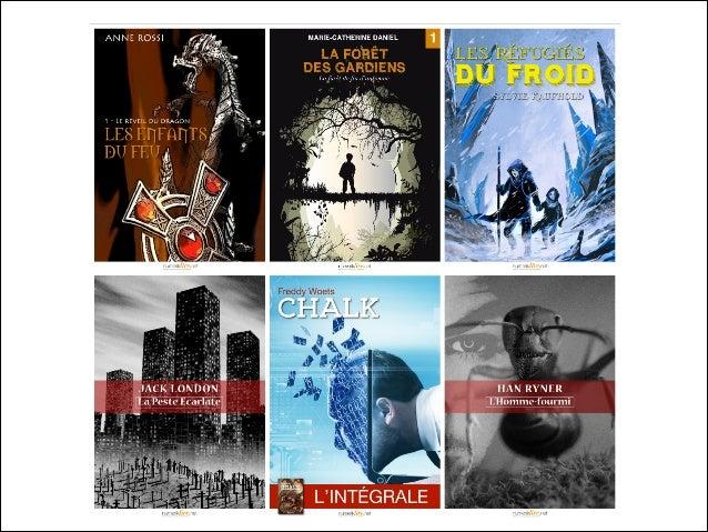Un aperçu du catalogue 2014 des Éditions Numeriklivres