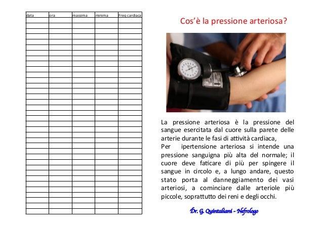 La   pressione   arteriosa   è   la   pressione   del   sangue  esercitata  dal  cuore  sulla  par...