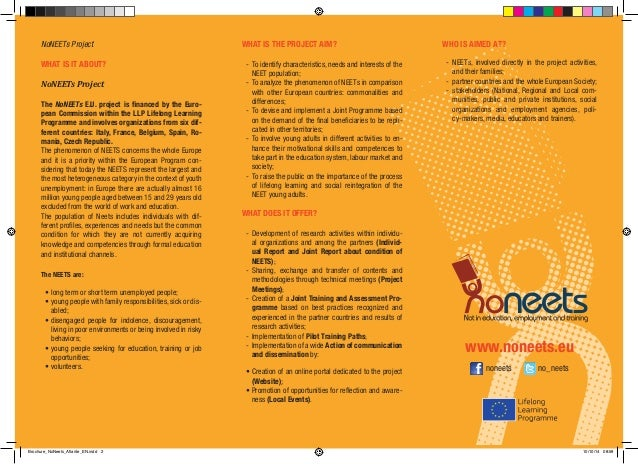 Institutional Informative NoNEETs brochure English Slide 2