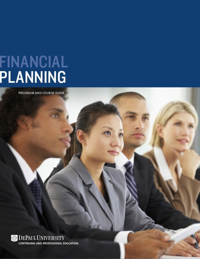 FINANCIAL PLANNING PROGRAM AND COURSE GUIDE