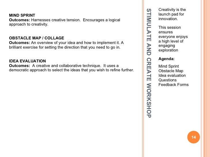 Innovation Workshopsworkshop Feedback Form. Art Workshop