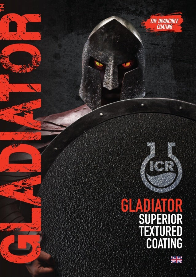 GLADIATOR | ICR 2K PROTECTIVE COATING OF A HIGH QUALITY REFINISH AND A CHARACTERISTIC ORANGE PEEL EFFECT The ideal solutio...