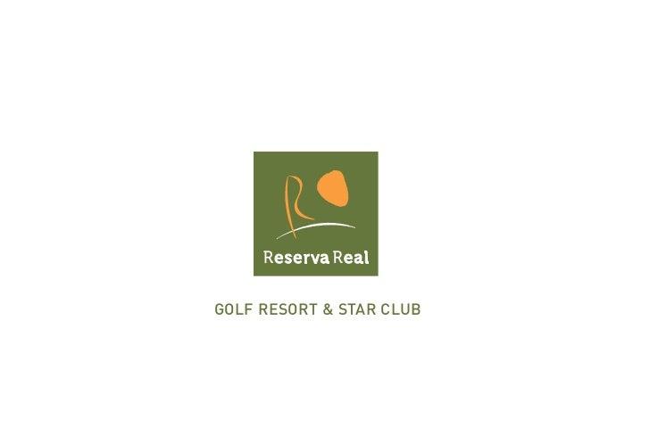 Golf ResoRt & staR Club