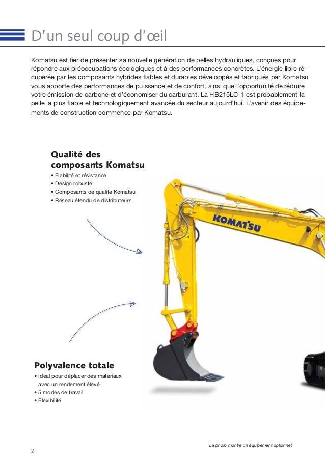 Catalogue Komatsu Slide 2