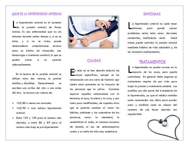 Brochure hipertension arterial