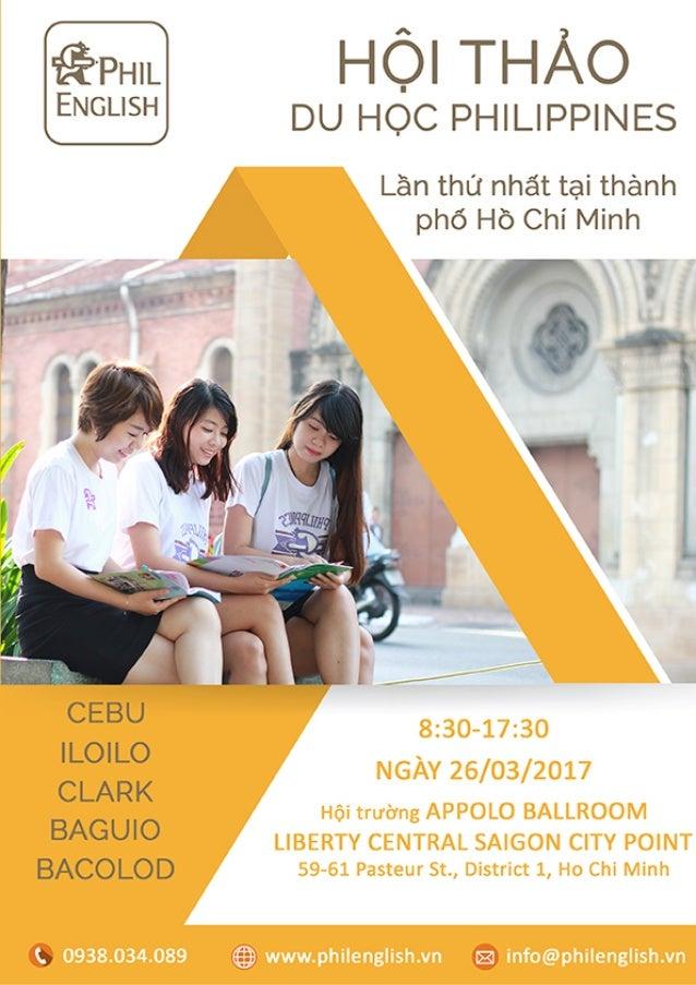 Hội thảo du học Philippines lớn nhất Việt Nam (Brochure hội thảo )