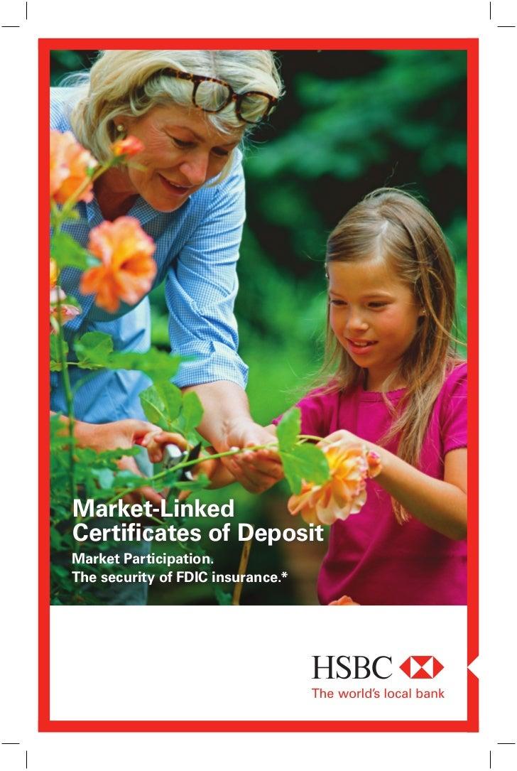 Hsbc Bank Market Linked Cd Brochure