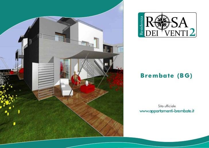 R             SAResidenza            DEI VENTI            2   Brembate (BG)                Sito ufficiale www.appartamenti...