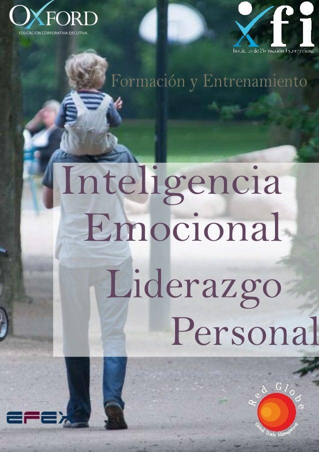 Inteligencia Emocional Liderazgo Personal Formación y Entrenamiento