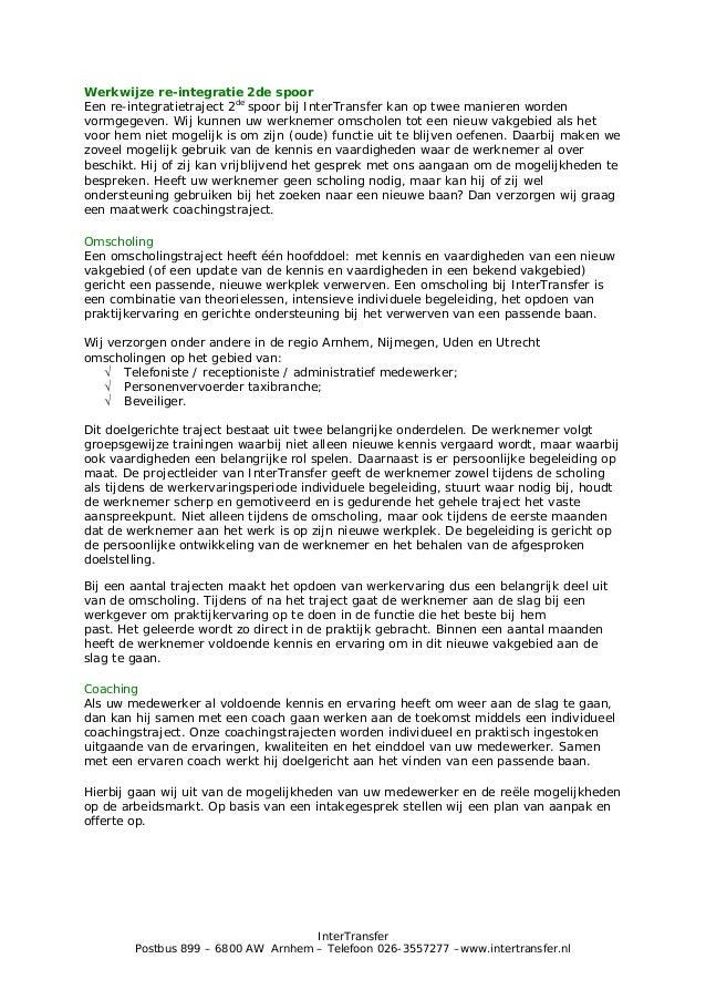 re integratie plan van aanpak voorbeeld Plan Van Aanpak Re Integratie | hetmakershuis re integratie plan van aanpak voorbeeld