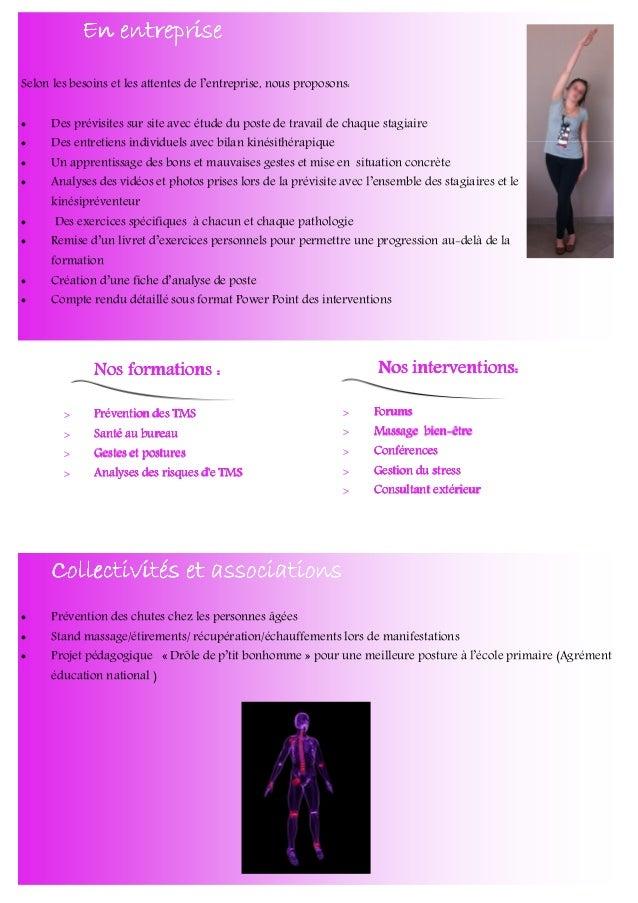 Espace du Levant 82210 CASTELMAYRAN CONTACT Pour plus d'informations, contactez nous : Par mail: contact@kinessens.fr Par ...