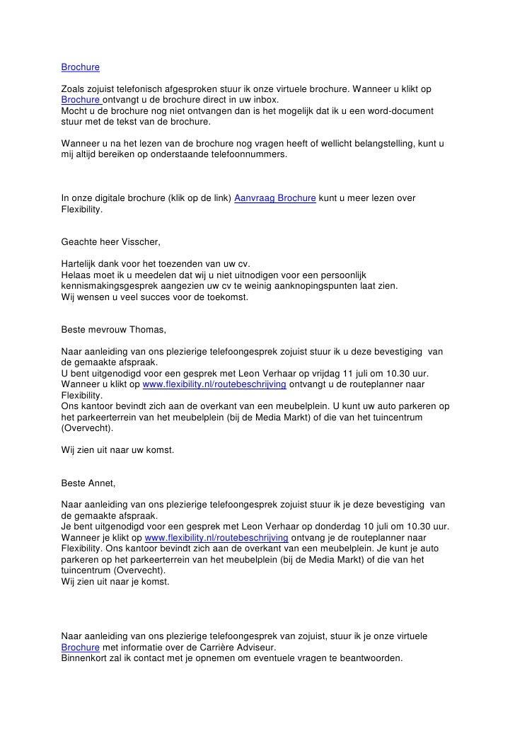 telefoongesprek sollicitatie Brochurelinks telefoongesprek sollicitatie