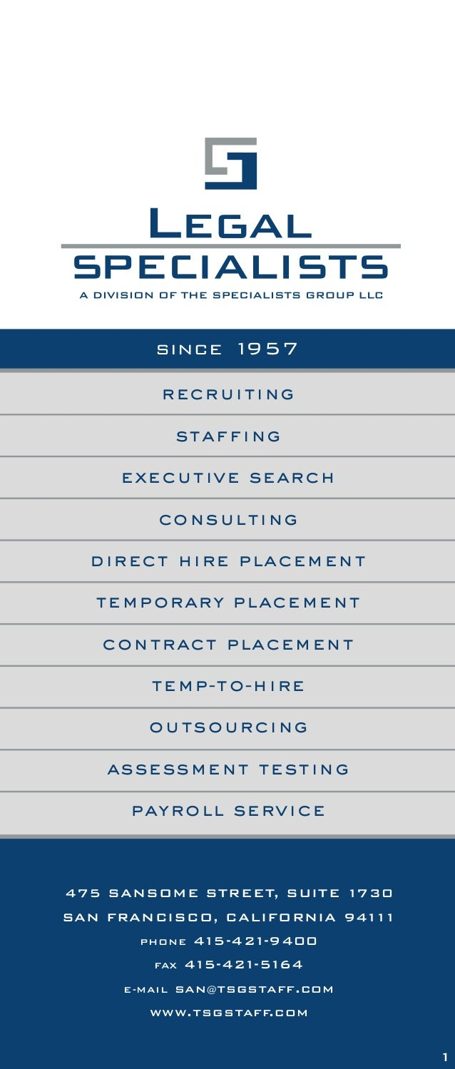 the tsg difference recruiting staffing executive search consulting direct hire placement temporary placement contract plac...