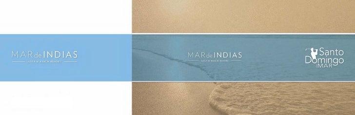 Brochure Proyecto Construcción Mar de Indias