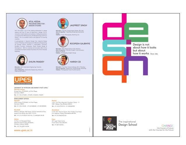 Brochure UPES M. Des.