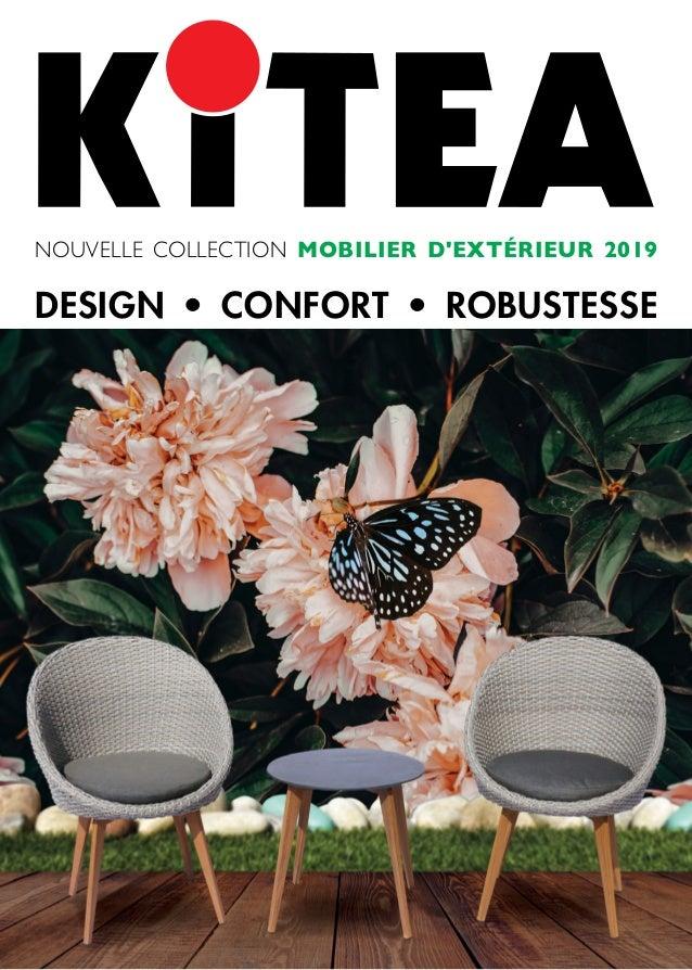 Brochure Kitea Maroc Mobilier d\'extérieur 2019