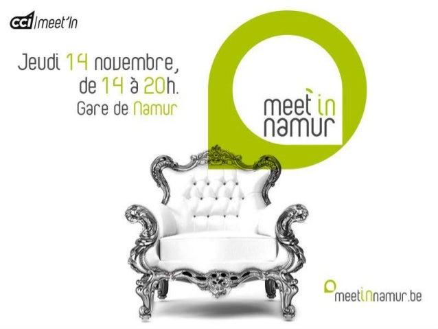 Le plus grand événement de networking en Province de Namur [100 exposants et 1.000 décideurs] Exclusivement réservé aux en...