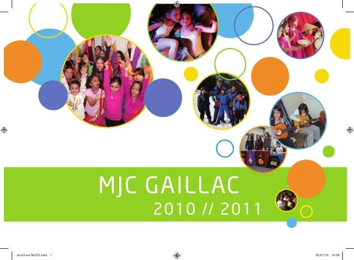 Brochure mjc gaillac_2010_2011