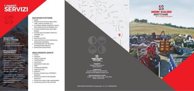 Brochure SMALTIMENTO Rifiuti e Rottami
