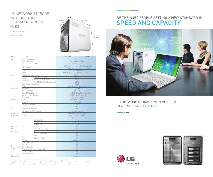 LG NETWORK STORAGEWITH BUILT-IN                                                                                           ...