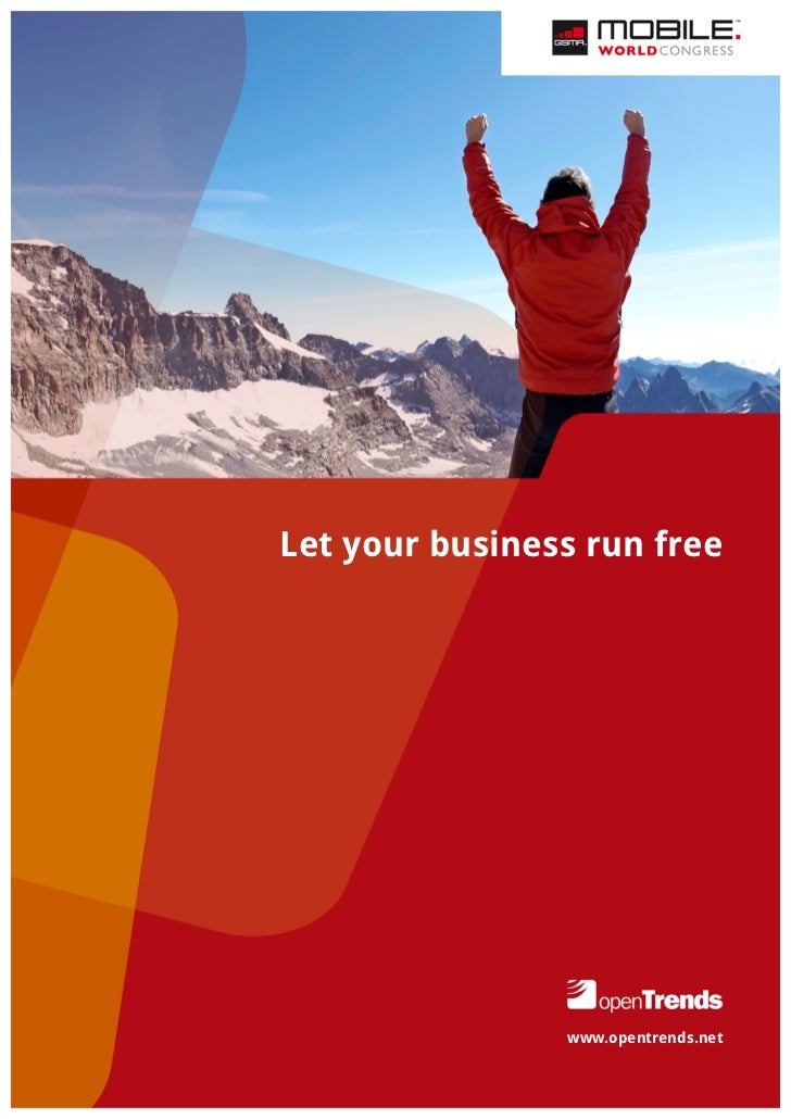Let your business run free                www.opentrends.net