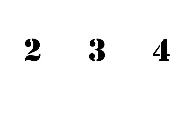 2   3   4