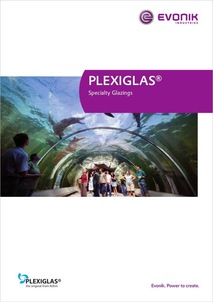 Brochure Plexyglas Gs Solid Sheet Cast Acrylic Evonik