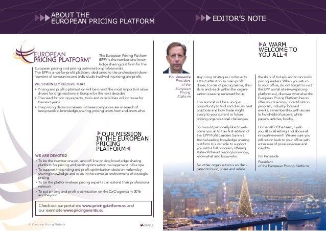 EPP Profit Leaders Summit 2016 Slide 3